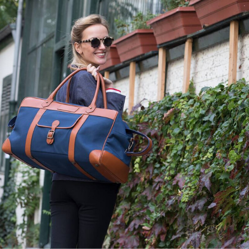 sac de voyage maroquinerie made in France