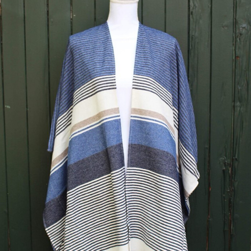 Mode femme poncho made in France