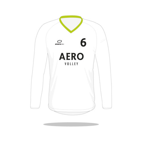 Maillot volley Aero manches longues devant