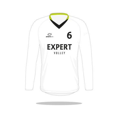 Maillot volley Expert manches longues devant